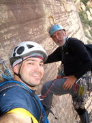 Rock Climbing Photo: Me and Mike on Epinephrine