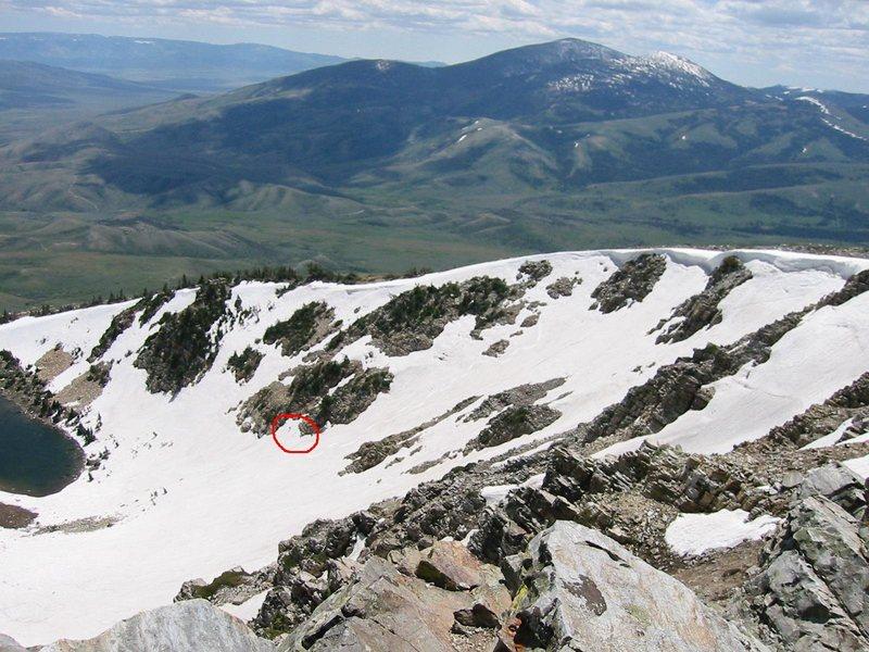 Rock Climbing Photo: Looking towards Idaho's City of Rocks from the sum...