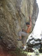 "Rock Climbing Photo: Baby Hands on ""Sí, Creo"" V7"