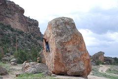Rock Climbing Photo: Side view.