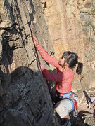 Rock Climbing Photo: First lead, Memorial Day weekend 2008, Shelf Road!...