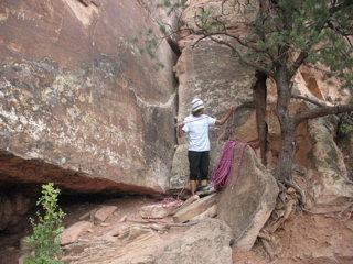 Rock Climbing Photo: LETS GO!!