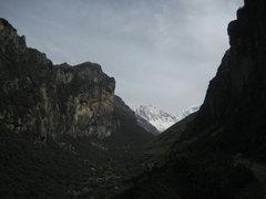 Rock Climbing Photo: Entering Quebrada Llaca