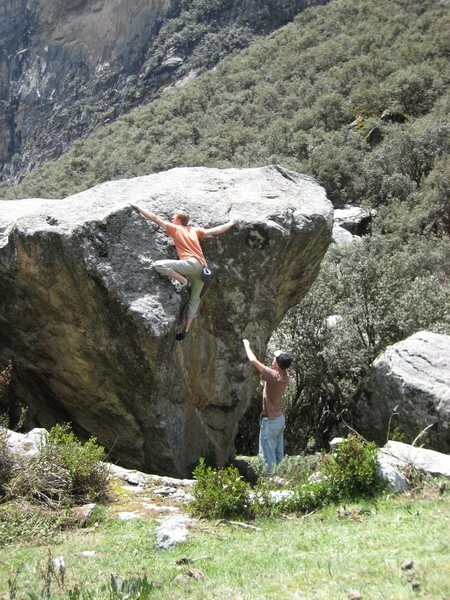 "Ethan tops out ""Windshield Wiper"" V4"