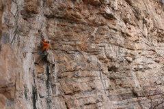Rock Climbing Photo: The awkward 3rd clip