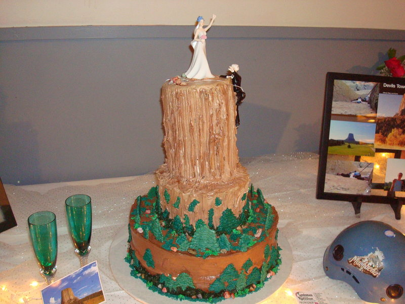The Devil's Tower cake