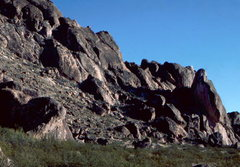 Rock Climbing Photo: The Eagle with the legendary Skinner route, When L...