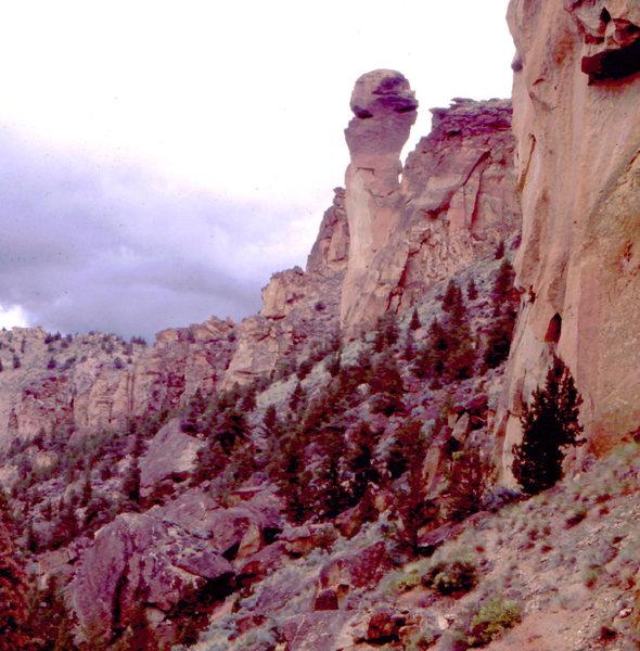 Monkey Face Pinnacle, Smith Rocks.