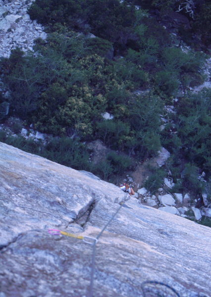 The Line Route at Lover's Leap, photo: Bob Horan