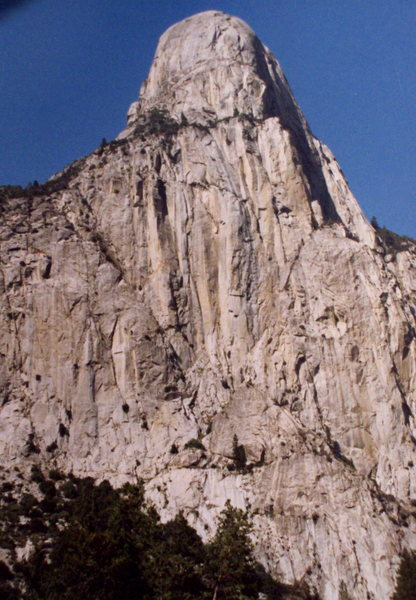 Rock Climbing Photo: A classic High Sierra dome, photo: Bob Horan.