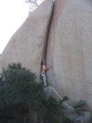 Rock Climbing Photo: Getting ready!  Photo by Elizabeth Benjamin