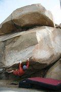Rock Climbing Photo: Continuing the traverse...