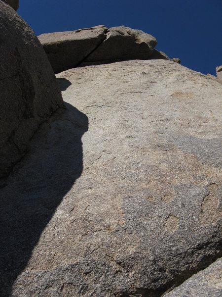 Rock Climbing Photo: Base of Birthday Party.