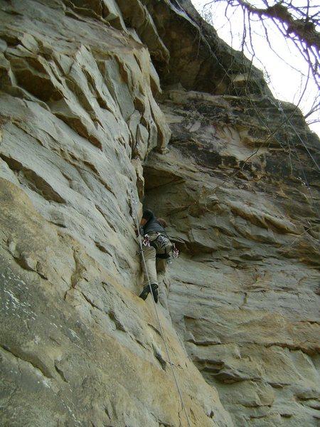 Rock Climbing Photo: Easy climb