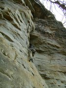 Rock Climbing Photo: Easy climb