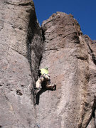 Rock Climbing Photo: Jammin' and stemmin' gets it done.