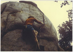 Rock Climbing Photo: FF/A Off The Shoulder, '85.