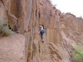 Rock Climbing Photo: Sneed's Cory, Franklin's Mt. in El Paso, Tx