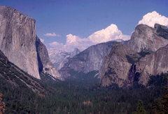 Rock Climbing Photo: Inspiration Point, Yosemite Valley.