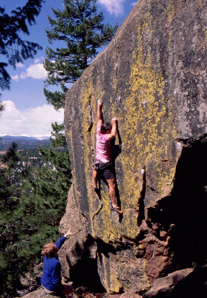 Rock Climbing Photo: Great bouldering at the Sacred Cliffs, photo: Bob ...