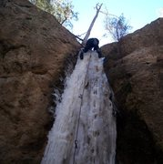 Rock Climbing Photo: The Spookytooth top out.
