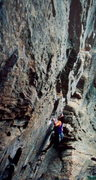 Rock Climbing Photo: BH not taking sandstone for granite at the Red Riv...