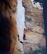 Rock Climbing Photo: Trad at Red River Gorge.