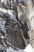 Rock Climbing Photo: Slippery When Wet on Feb 1,2009. Photo by Dan Dalt...