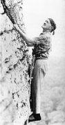 Rock Climbing Photo: Fritz loved to Climb
