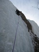 Rock Climbing Photo: Brian shaking out the cobwebs.