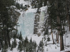 Rock Climbing Photo: Park Gate ice routes