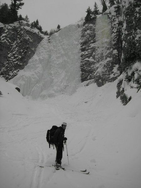 Park Gate ice wall 130'