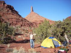 Rock Climbing Photo: vanity....haha