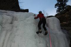 Rock Climbing Photo: Climbing Coors Lite, pitch 1