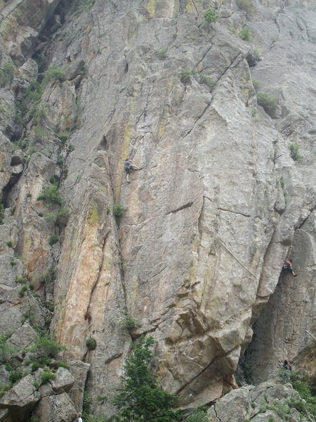 Rock Climbing Photo: Another Bell Buttress classic, North Face.  Photo:...