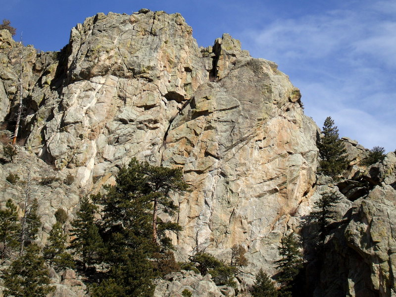 Upper Security Risk, Boulder Canyon.
