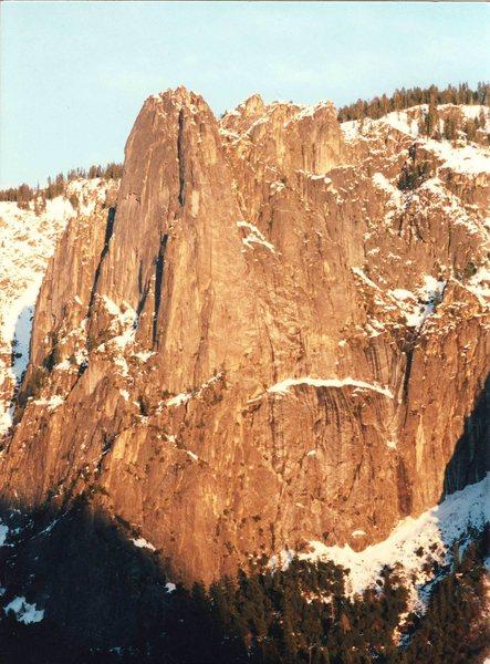 Rock Climbing Photo: It's big!!!