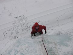 Rock Climbing Photo: First time on ice