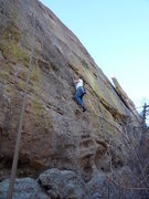 Rock Climbing Photo: Pebble pulling on Renaissance.