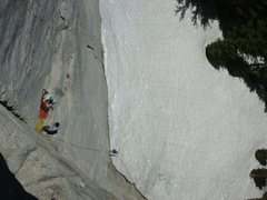 Rock Climbing Photo: Lucky Streaks (.10 Tuolumne, CA)  on Friday 13th 2...