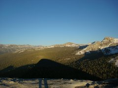 Rock Climbing Photo: View from the summit of Fairview Dome (Tuolumne, C...