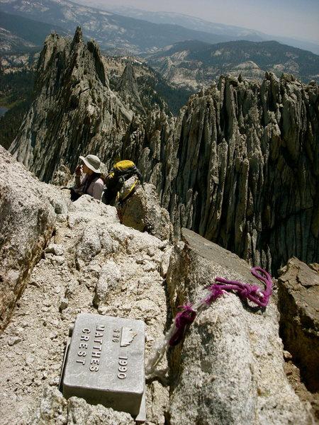 From the summit of Matthes Crest (Tuolumne, CA)
