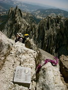 Rock Climbing Photo: From the summit of Matthes Crest (Tuolumne, CA)
