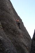 Rock Climbing Photo: Stardancer, Rushmore needles. I guess it's a 5.9 n...
