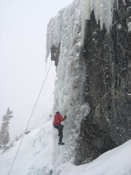 Rock Climbing Photo: The pillar in full form. Was rotten on the right s...
