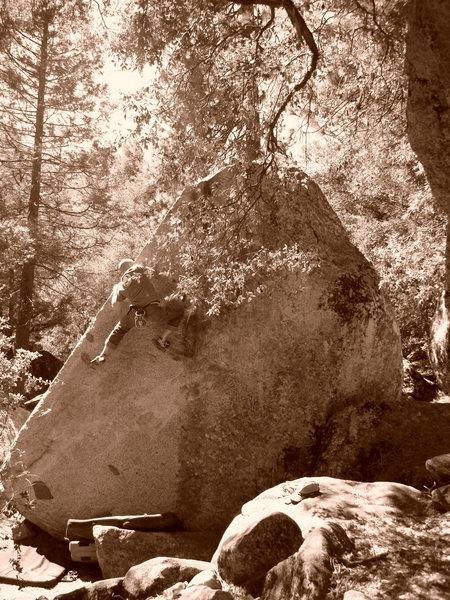 Rock Climbing Photo: Brian Holstein on Cocaine Corner.