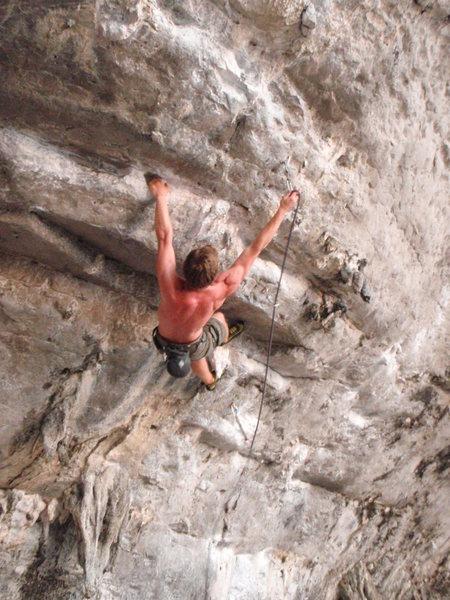 Rock Climbing Photo: easy clips