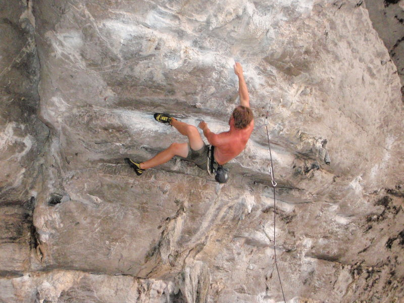 Rock Climbing Photo: a route full of crucial foot beta