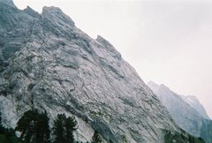 Rock Climbing Photo: Englehorner climbing area.  Great trad routes with...