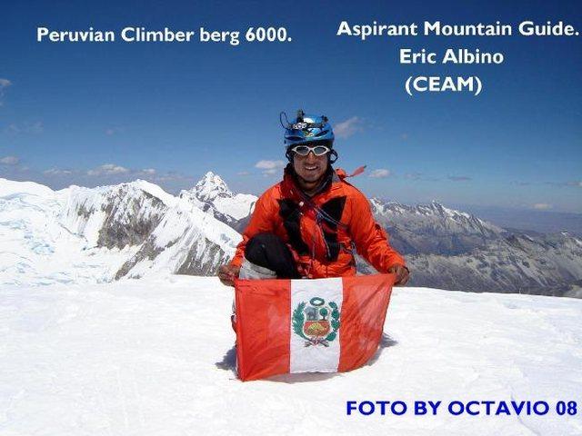 summit Tocllaraju 2008-mit 6034 msnm